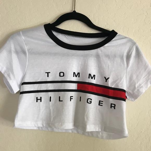 1db12cd97df FAKE Tommy Hilfiger Crop Top. M 5b2d6cc53e0caa56cbf109ed